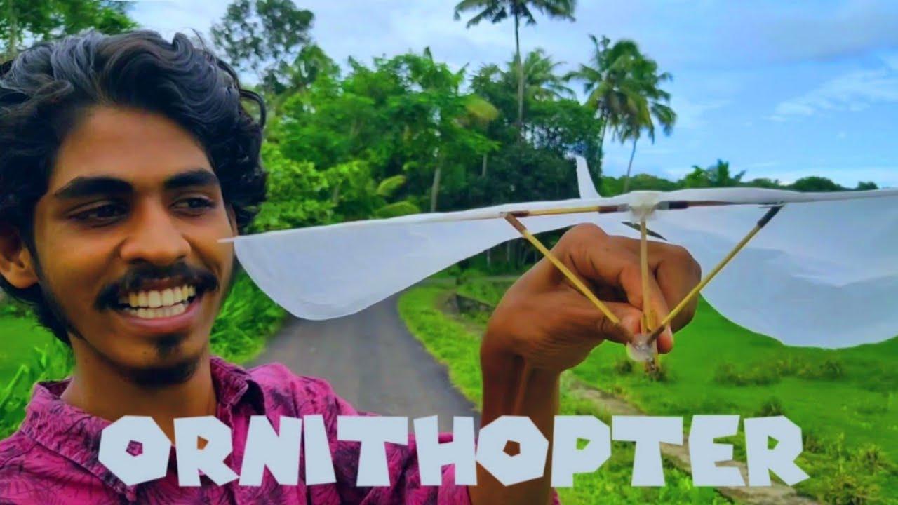ORNITHOPTER ഇനി വീട്ടിൽ ഉണ്ടാക്കാം / Arjun talks