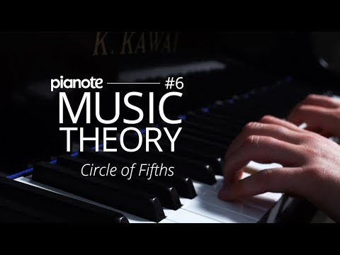 Music Theory For The Dropouts #6 - The Circle Of Fifths (Piano Lesson)