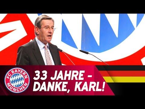 33 Jahre FC Bayern - Danke, Karl Hopfner!