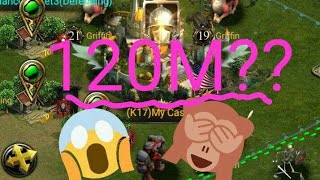 120M power in 1 day!! Textboy in clash of kings the west- glitch or hack? (K9)