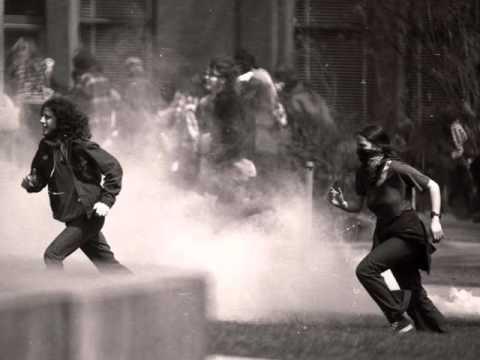 Vietnam Photostory: anti-war college protests