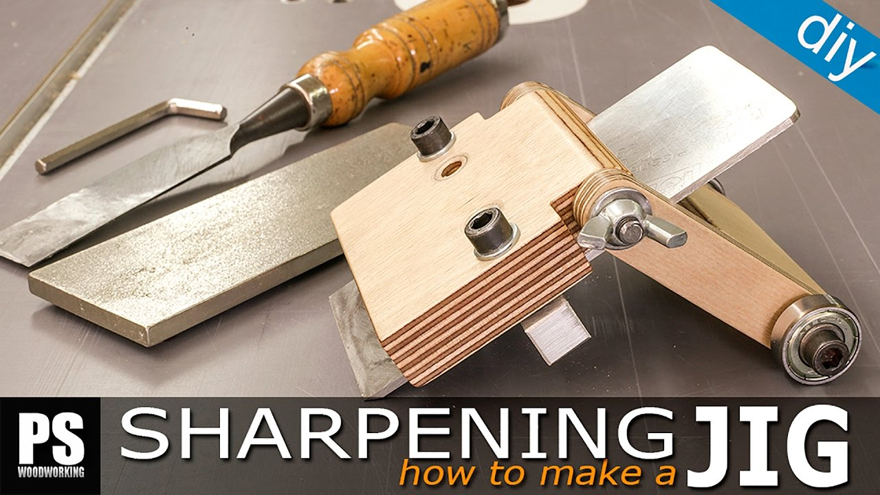 How To Make A Sharpening Jig Youtube