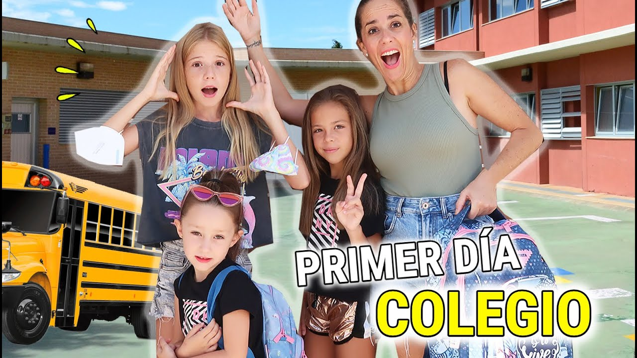 Download PRIMER DIA DE COLEGIO DE MIS HIJAS VALERIA Y MARTINA 🎒 RUTINA DE MAÑANA ANTES DE IR A CLASES