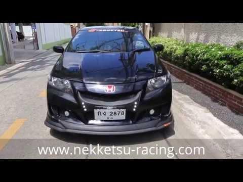 ชุดแต่ง Honda City ทรง Super Sport โดย NEKKETSU racing