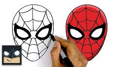 How To Draw Spider-Man | Step By Step Tutorial