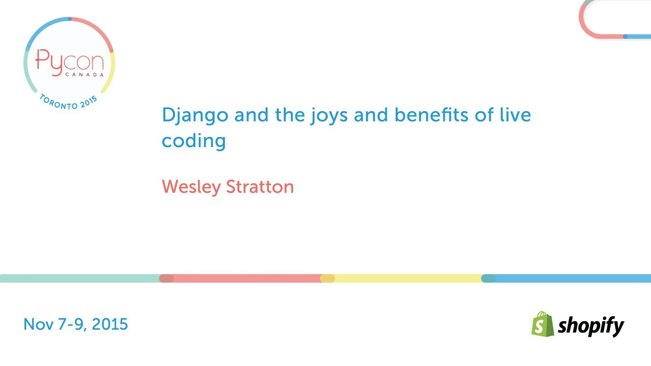 Image from Django and the joys and benefits of live coding