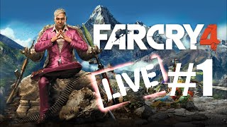 Far Cry 4 Live Stream #1 - Pagan