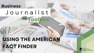 Try This! Using the American Fact Finder