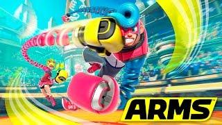 Tráiler de Arms: El nuevo Juego de lucha de Nintendo Switch