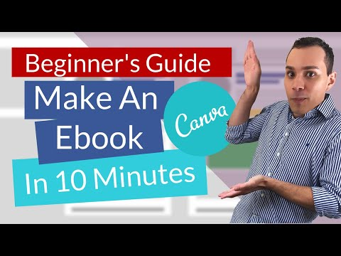 How To Make An Ebook In Canva | Beginners Tutorial (Create PDF)