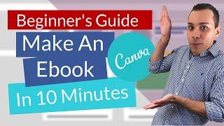 Comment créer un Ebook En Canva | Débutants Tutoriel (Créer un fichier PDF)
