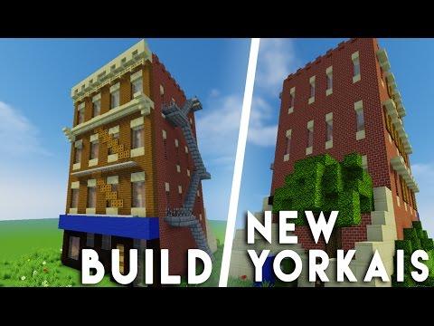Minecraft - Construction d'un immeuble New-Yorkais