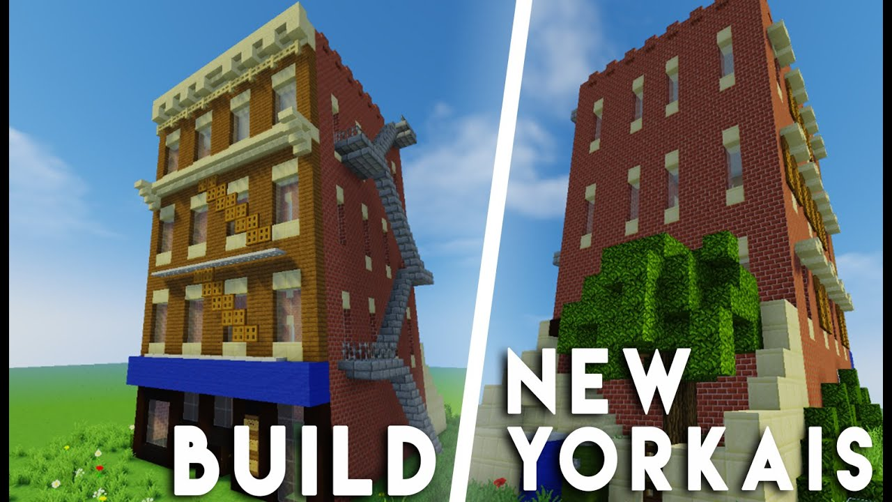 Minecraft construction d 39 un immeuble new yorkais youtube - Immeuble moderne minecraft ...