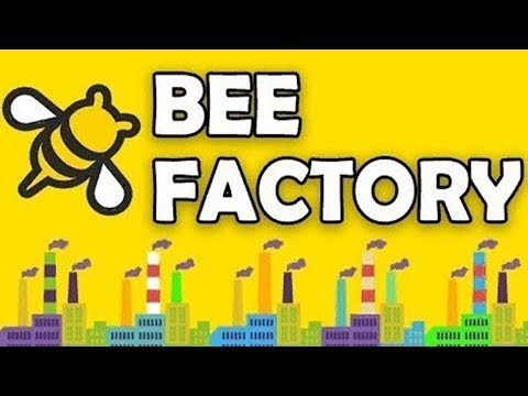 Game Bee Factory Игра Пчелиный завод #1