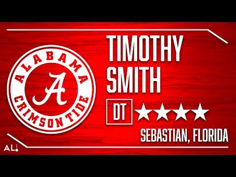Alabama 2020 Signee: Timothy Smith Highlights