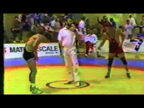 1988 Canada Cup: 82 kg Bronze Sol Fleckman (USA) vs. David Hohl (CAN)