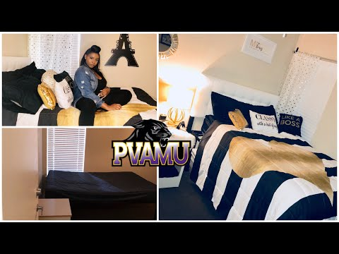 PVAMU | COLLEGE DORM MAKEOVER TOUR | FIRST APARTMENT 🤩