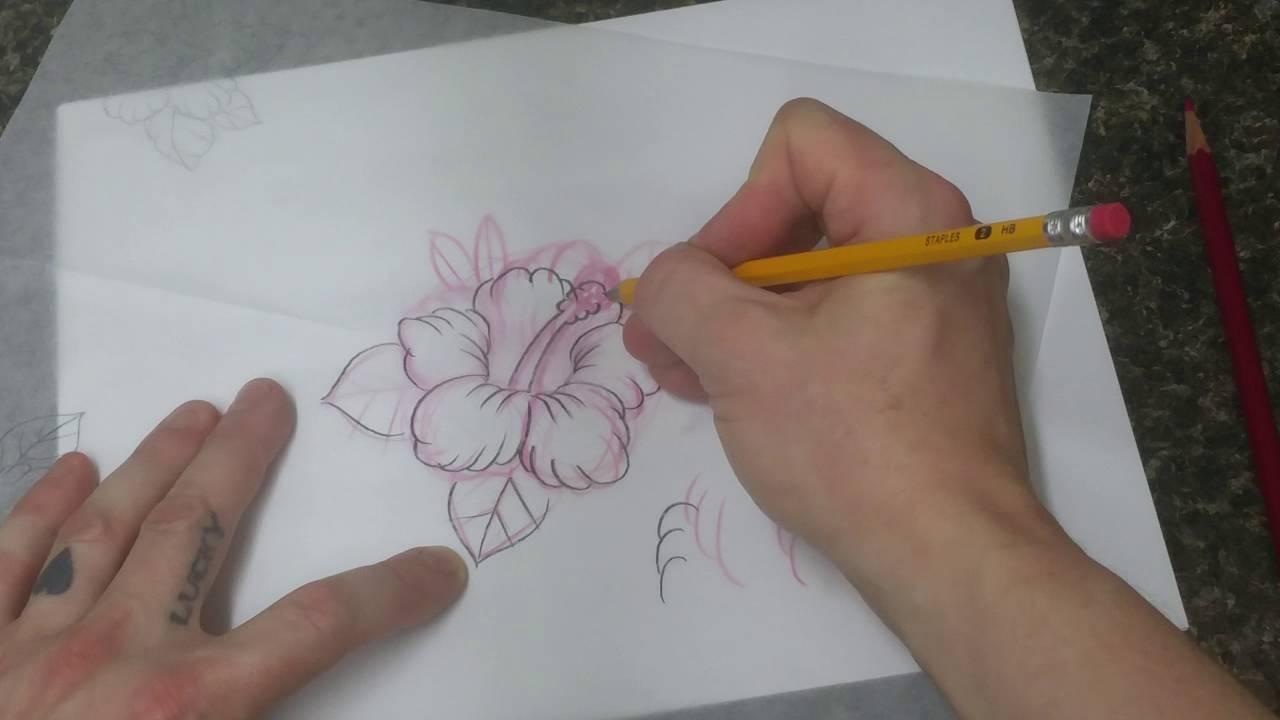 Tattoo Art Nerd Anyone Can Draw Tattoo Style Tropical Flower