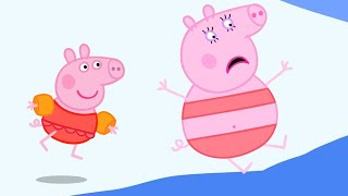 Peppa Pig Official Channel | Healthy Habits - Swimming with ...