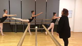 Excerpts from ballet class: Pallas Sluyter