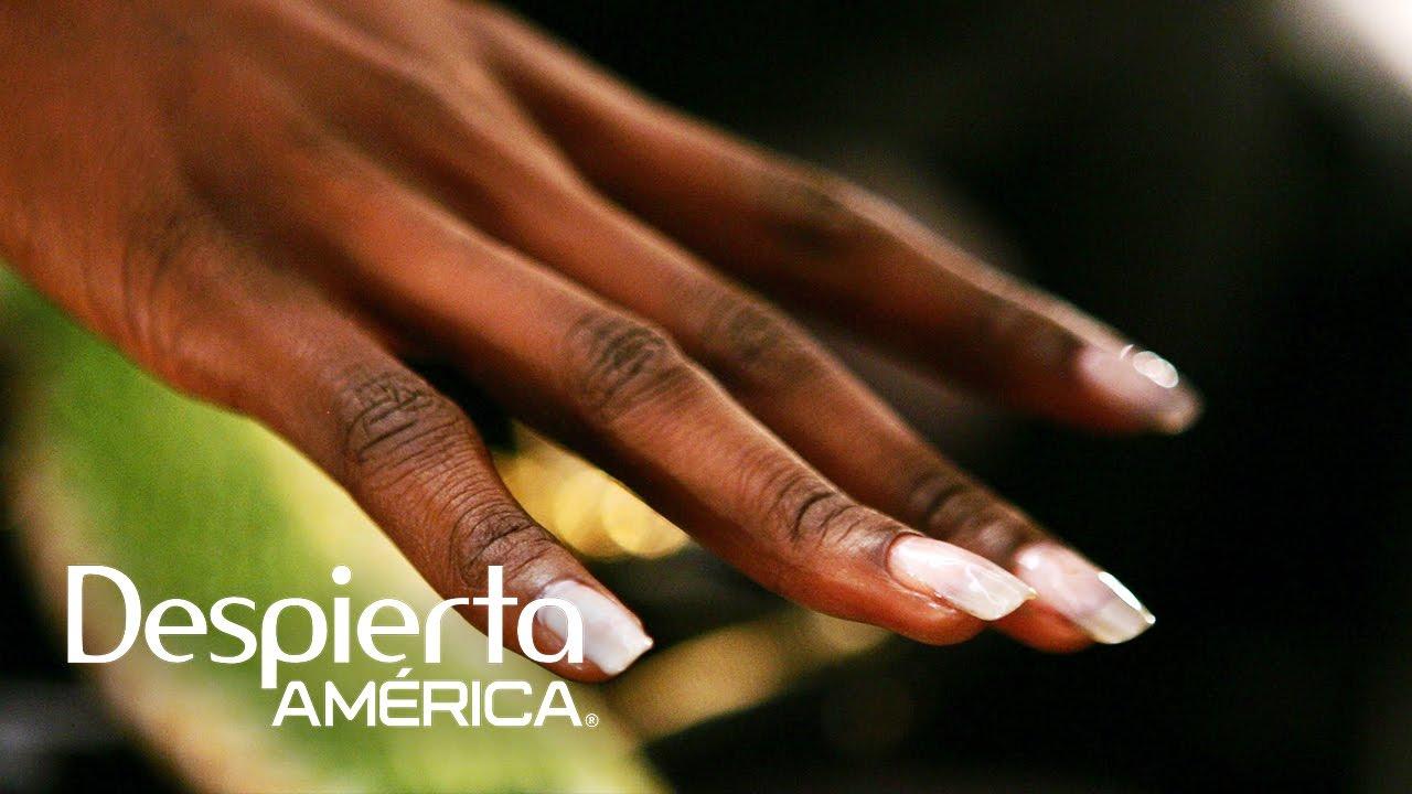 Tratamiento para uñas quebradizas y uñas amarillentas - YouTube