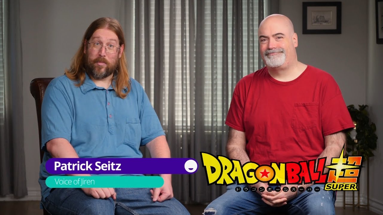 Dragon Ball Super Interview With Patrick Seitz And Kyle Hebert Youtube