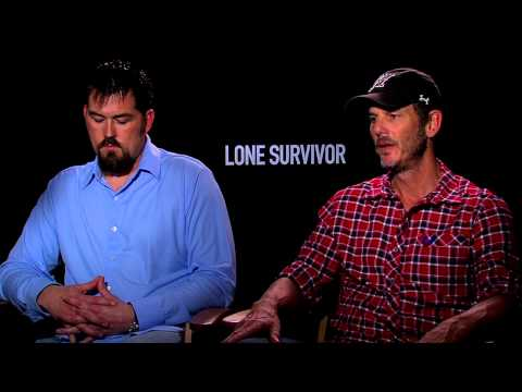 Lone Survivor: Director Peter Berg & Marcus Lutrell Official Movie Interview