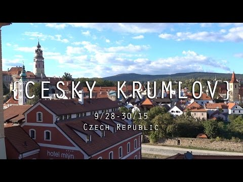 CESKY KRUMLOV IS AMAZING! | Czech Republic