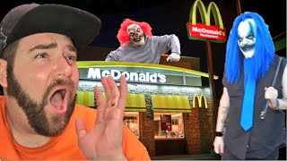 KLOWNS TRIED TO KILL ME AT MCDONALDS! (NOT CLICKBAIT)