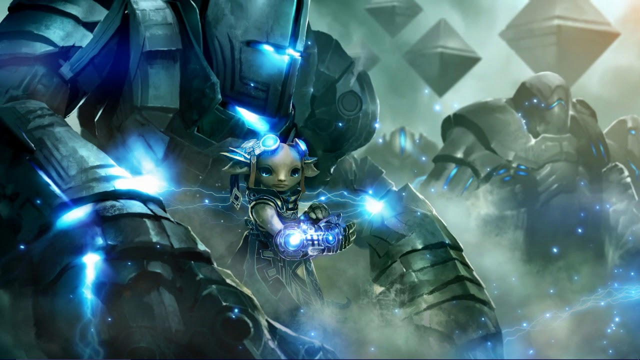 Zojja With A Golem Guild Wars 2 Wallpaper Engine Youtube