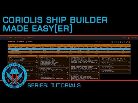 Tutorial: Coriolis Ship Builder