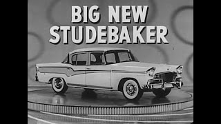 1950s Studebaker Automobile Commericals Ad Car