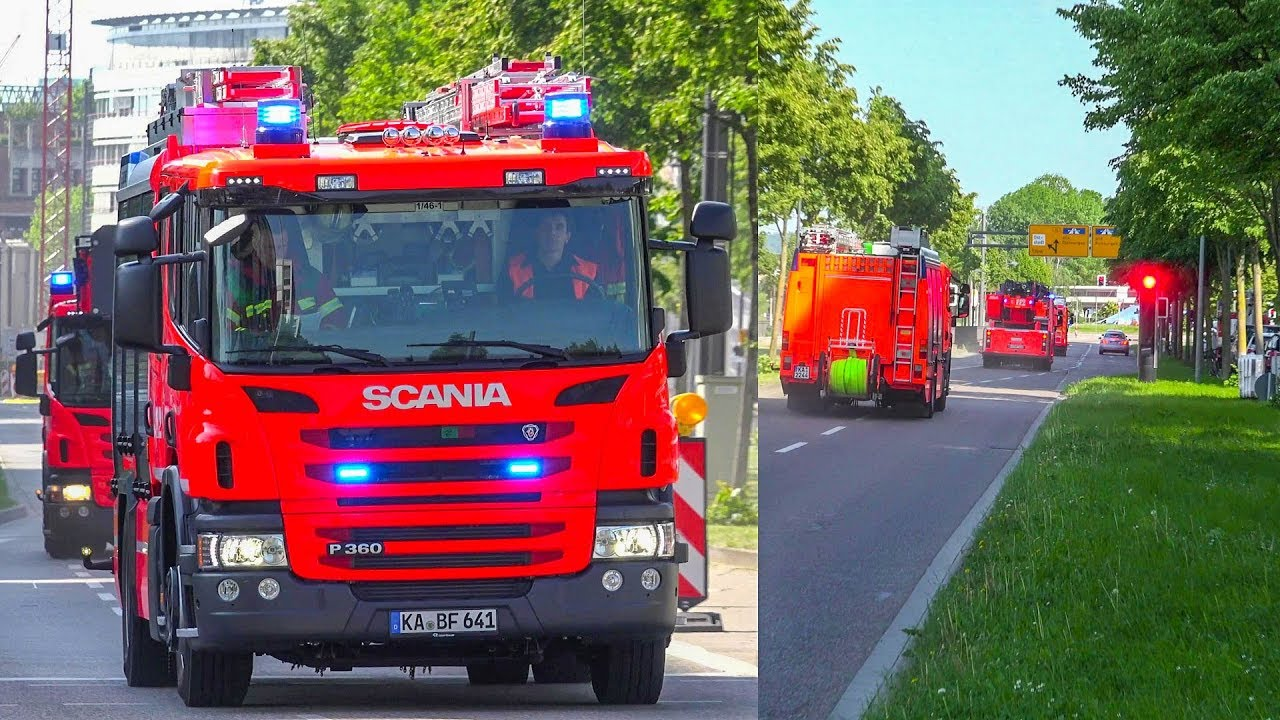 Blaulicht Karlsruhe
