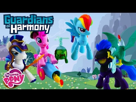 My Little Pony Guardians Of Harmony Toys Pinkie Pie Rainbow Dash Shining Armor Shadowbolt Review