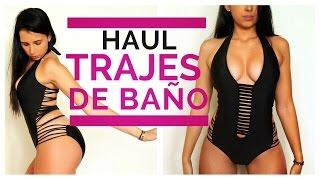 Probandome TRAJES de BAÑO! | HAUL adelanto de VERANO!