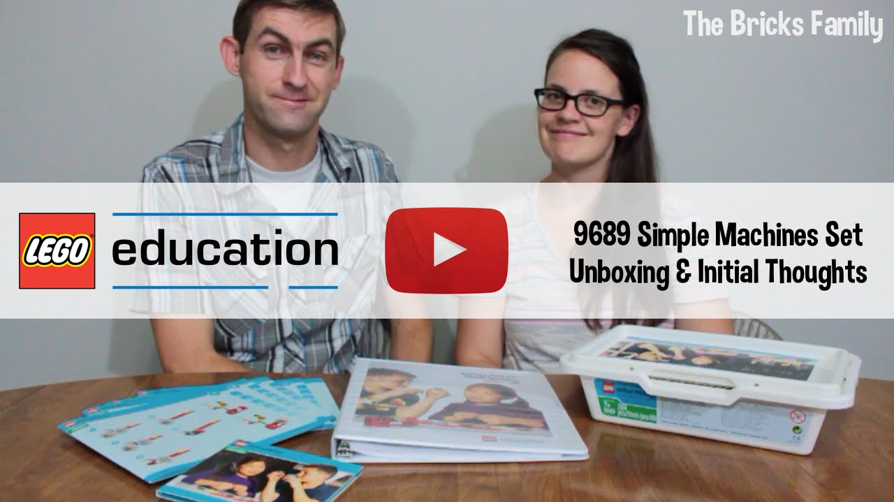 LEGO Education: Simple Machines (9689) Unboxing and Initial Thoughts