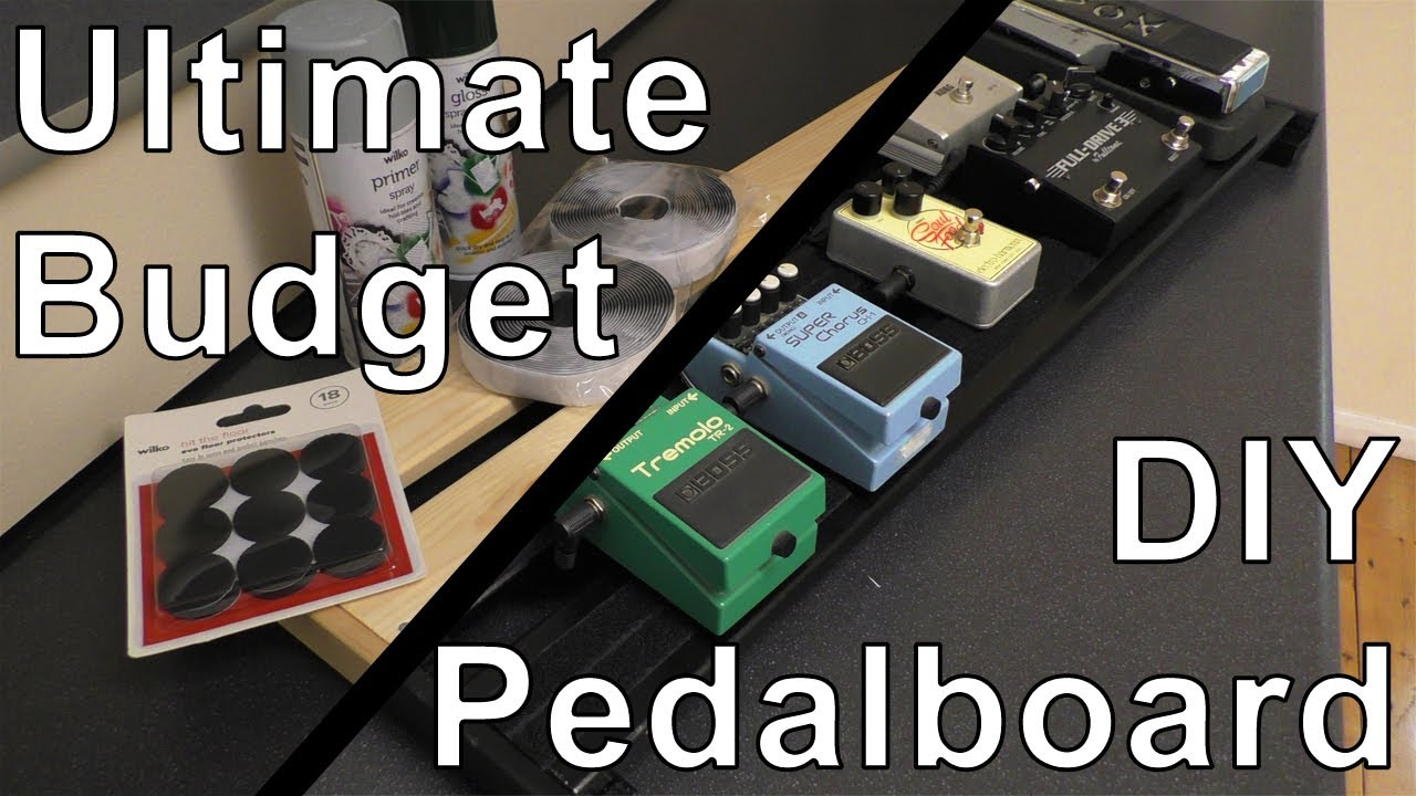 how to make a homemade pedal board homemade ftempo. Black Bedroom Furniture Sets. Home Design Ideas