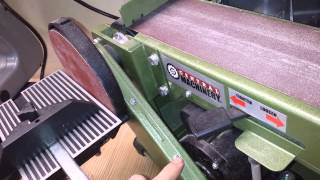 Harbor Freight Table Top Belt Sander