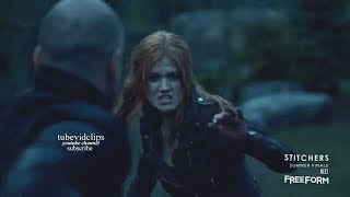 Shadowhunters 2x20 Clary Valentine Fight - He Died  Season 2 Episode 20 Finale