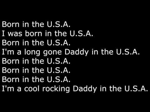 Born in the USA (lyrics)