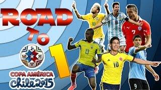PES 2015 | Road to la Copa América Chile 2015 | Qué comienzo! | PS3.