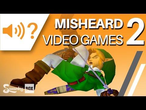 Misheard Video Games 2   SwankyBox