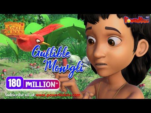Download मेगा ऐपिसोड |  Gullible Mowgli | हिंदी कहानीयाँ | जंगल बुक | पॉवरकिड्स टी.वी.