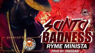 Ryme Minista - Santa Badness [Rebel Side Riddim] December 2017
