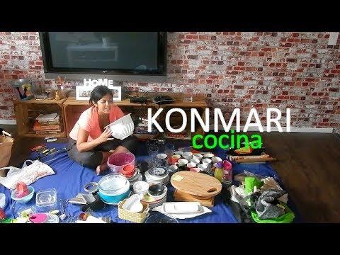 Cómo organicé mi cocina con el el Método KONMARI  | La magia del orden
