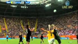 Abby Wambach Goal vs. Brazil in the 122