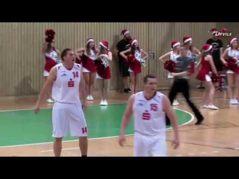 BBC White Devils vs.Tiergarten ISC 99 Berlin • 17.12.2017• RLN Männer Basketball