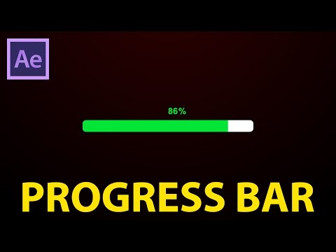 After Effects Tutorial : progress bar
