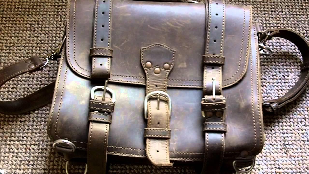 EDC Bag: Saddleback Leather Classic Briefcase - YouTube Saddleback Leather
