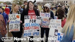This Is How Horribly U.S. Teachers Are Actually Paid (HBO)